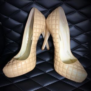 Quilted Stiletto Pumps